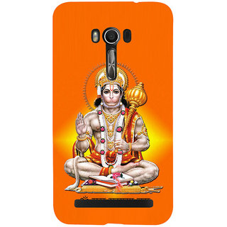 Snapdilla Lord Srirama Bajrangbali Jai Hanuman Sri Anjaneya Hindu Religious Mobile Cover For Asus Zenfone Go ZC500TG