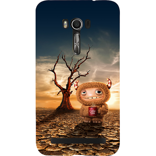 Snapdilla Best Animation Clip Art Funny Cartoon For Cool Kids 3D Mobile Cover For Asus Zenfone Go ZC500TG