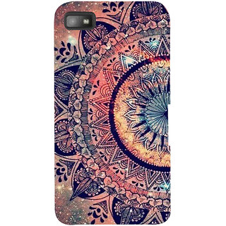 Snapdilla Colorful Sci-Fi Artistic Pattern Awesome Multi Color Rangoli Phone Case For BlackBerry Z10