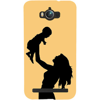 Snapdilla Yellow Color Background Son'S First Love Mothers Day Best Mom Gift Back Cover For Asus Zenfone Max ZC550KL :: Asus Zenfone Max ZC550KL 2016 :: Asus Zenfone Max ZC550KL 6A076IN