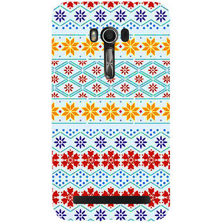 Snapdilla Different UniqueColorful Rangoli Pattern For Lovely Girls Mobile Cover For Asus Zenfone Go ZC500TG