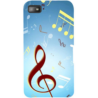 Snapdilla Traditional Melody Love Music Chords Dj Notes Cultural Mobile Case For BlackBerry Z10