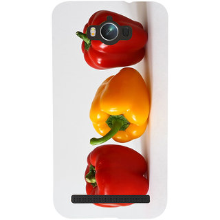 Snapdilla Kitchen Chef Capsicum Red Bell Pepper Colorful Unique Mobile Cover For Asus Zenfone Max ZC550KL :: Asus Zenfone Max ZC550KL 2016 :: Asus Zenfone Max ZC550KL 6A076IN