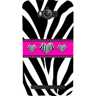 Snapdilla Different Pattern Black  White Heart Shaped Zebra Love Leather Phone Case For Asus Zenfone Max ZC550KL :: Asus Zenfone Max ZC550KL 2016 :: Asus Zenfone Max ZC550KL 6A076IN