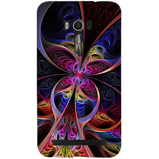 Snapdilla Unique Animated Graphical Modern Art Colorful 3D Back Cover For Asus Zenfone Go ZC500TG