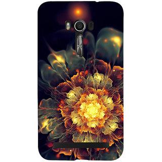 Snapdilla Lovely Clasic Wonderful Multi Color 3D Flower Best Mobile Cover For Asus Zenfone Go ZC500TG