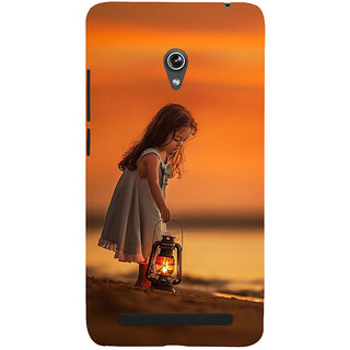 Snapdilla Beautiful Sunset Cute Daddy'S Little Princess Girl Baby Kid Cell Cover For Asus Zenfone 6 A600CG