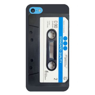 Snapdilla Vintage Compact Tape Recorder Black Cassette Music Lovers Designer Case For Apple IPod Touch 6