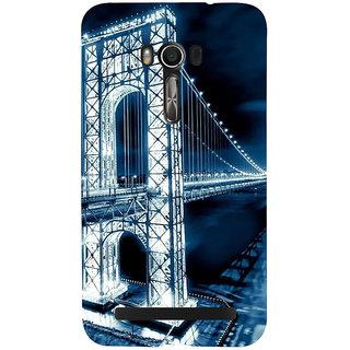 Snapdilla Beautiful San Francisco Night Life Golden Gate Bridge Amazing Architecture Smartphone Case For Asus Zenfone Go ZC500TG