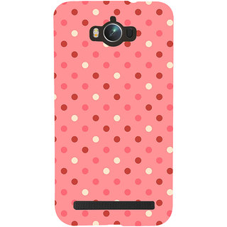 Snapdilla Artistic Modern Art Pink Background Dot Pattern Fantastic Awesome Girly Mobile Case For Asus Zenfone Max