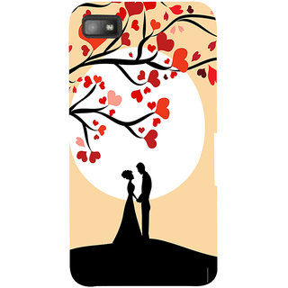 Snapdilla Cute Good Looking Honeymoon Couple Artistic Lovers  Gift Phone Case For BlackBerry Z10