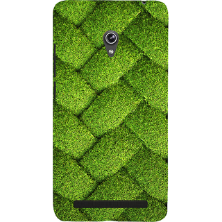 Snapdilla Good Looking Beautiful Green Zig Zag Net Pattern Lovely Looking Phone Case For Asus Zenfone 5