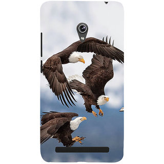 Snapdilla Sky Blue Background Flying Eagles Wild Life Hawk Hd Photo Cell Cover For Asus Zenfone 5