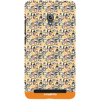 Snapdilla Trendy Artistic Cubes Pattern Stylish Looking Colorful Latest Designer Case For Asus Zenfone 5