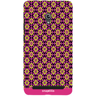 Snapdilla Colorful Rangoli Pattern Awesome Looking Stylish Multi Color Beautiful Smartphone Case For Asus Zenfone 5