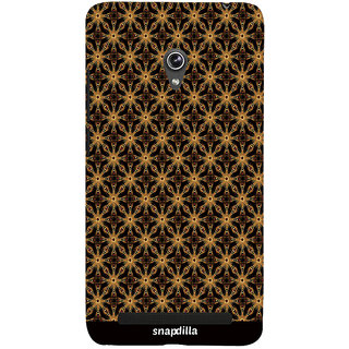 Snapdilla Artistic Ethnic Pattern Stunning Sober Looking Trendy Stylish 3D Print Cover For Asus Zenfone 5