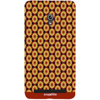 Snapdilla Colourful Artistic Floral Pattern Modern Stylish Looking Awesome Designer Case For Asus Zenfone 5