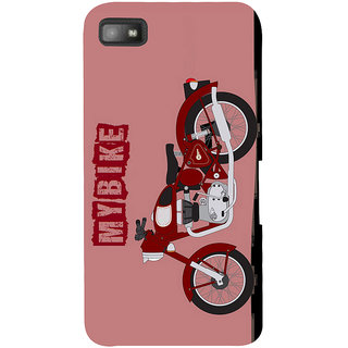Snapdilla Cool My Bike Bullet Lovers Awesome Painting 3D Print Cover For BlackBerry Z10