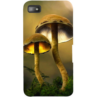 Snapdilla Animated Clipart  Artistic Mushroom Pretty Cool 3D Smartphone Case For BlackBerry Z10