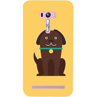 Snapdilla Artistic Modern Art Cute Puppy Cool Crazy Cartoon Designer Case For Asus Zenfone Selfie ZD551KL