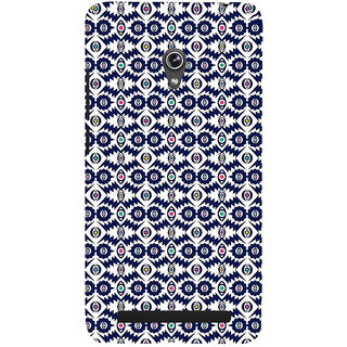 Snapdilla Gorgeous Blue Pattern Artistic Cute Cultural Best 3D Print Cover For Asus Zenfone 5