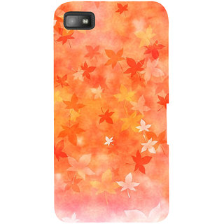 Snapdilla Artistic Clipart Bright Background Autumn Leaves Awesome Designer Case For BlackBerry Z10