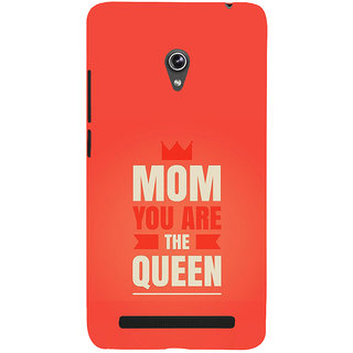 Snapdilla Awesome Mom You Are The Queen Quote Lovely Mothersday Womens Day Gift Mobile Case For Asus Zenfone 5