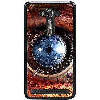 Fuson Designer Back Cover For Asus Zenfone 2 Laser ZE500KL (5 Inches) (Lens Camera Lens Mobile Camera Mechanical Camera)