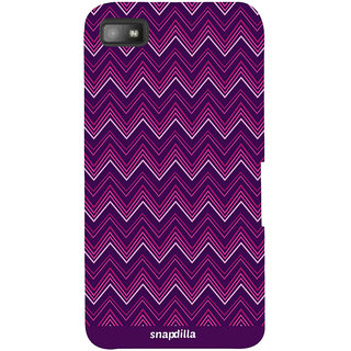 Snapdilla Simple Crazy Looking Excellent Best Pattern Latest Phone Case For BlackBerry Z10