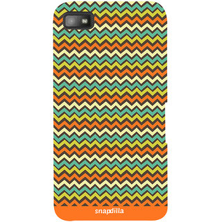 Snapdilla Funky Simple Stripes Pattern Crazy Good Looking Best Cool 3D Print Cover For BlackBerry Z10