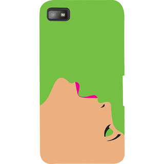 Snapdilla Posh Glamorous Stylish Girl Face Fashion Cute Chic Mobile Pouch For BlackBerry Z10