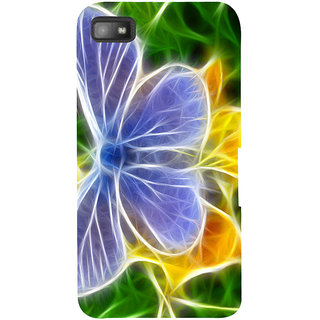 Snapdilla Simple Looking Artistic Colorful Butterfly Mind Blowing Pretty Beautiful Smartphone Case For BlackBerry Z10