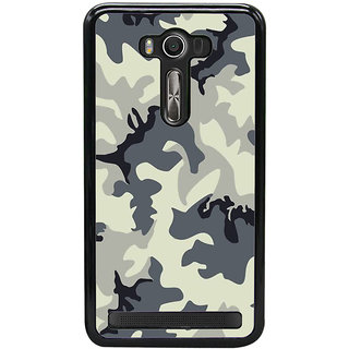 Fuson Designer Back Cover For Asus Zenfone 2 Laser ZE550KL (5.5 Inches) (Limited Edition  Magpul Pattern Design Art )