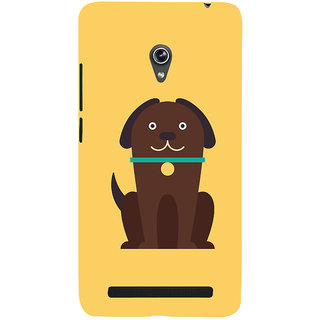 Snapdilla Artistic Modern Art Cute Puppy Cool Crazy Cartoon Designer Case For Asus Zenfone 5