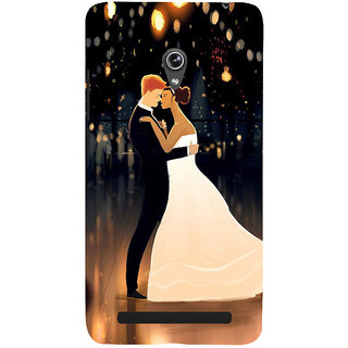 Snapdilla Lovely Cute Just Married Honeymoon Couple Valentines Day Gift Phone Case For Asus Zenfone 5