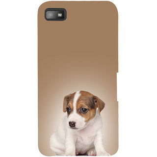 Snapdilla Good Looking Stylish Cute Puppy Dog Lovers Stunning Pleasant Back Cover For BlackBerry Z10