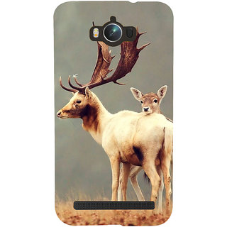 Snapdilla Grey Color Background Stunning Baby Deer Wild Life Hd Photo Smartphone Case For Asus Zenfone Max