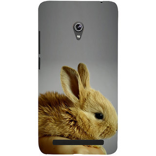 Snapdilla Grey Background Cool Attractive Adorable Cute Rabbit  Squirrel Phone Case For Asus Zenfone 5