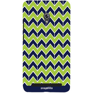 Snapdilla Crazy Cool Looking Creative Ethnic Stripes Pattern Artistic Superb Smartphone Case For Asus Zenfone 5