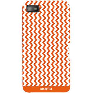 Snapdilla Artistic Modern Cute Looking Stripes Pattern Trendy Love Smartphone Case For BlackBerry Z10