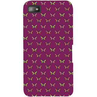 Snapdilla Colorful Pretty Looking Butterfly Pretty Artistic Cool Stunning Back Cover For BlackBerry Z10