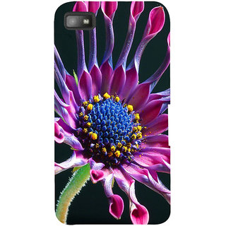 Snapdilla Artistic Beautiful Pink Flower Modern Art Stylish Artistic Good Looking Pretty Floral Mobile Pouch For BlackBerry Z10