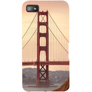 Snapdilla Creative Modern Art Golden Gate Bridge Architecture Stylish Phone Case For BlackBerry Z10