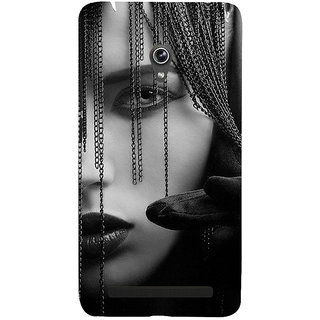 Snapdilla Impressive Cat Eyes Girl Beauty Sexy Hot 3D Print Cover For Asus Zenfone 5