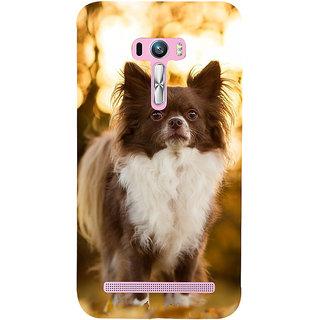 Snapdilla Cute Beautiful Puppy Dog Lovers Pet Lovers Unique Smartphone Case For Asus Zenfone Selfie ZD551KL