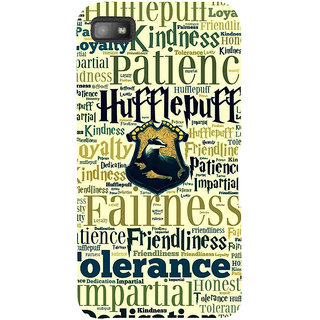 Snapdilla Patience Tolerance Dedication Typography Branded Hollywood English Back Cover For BlackBerry Z10