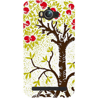 Snapdilla Artistic Unique Colors Animated Tree Abstract Painting Smartphone Case For Asus Zenfone Max