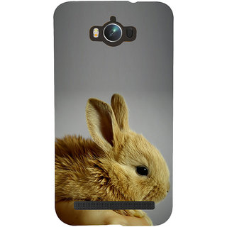 Snapdilla Grey Background Cool Attractive Adorable Cute Rabbit  Squirrel Phone Case For Asus Zenfone Max