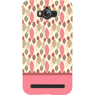 Snapdilla Perfect Stylish Dry Leaves Pattern Pink Color Lovely Smartphone Case For Asus Zenfone Max