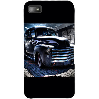 Snapdilla Stylish Looking Blue Color Classic Vintage Car Simple Amazing Heart Touching Best Cell Cover For BlackBerry Z10